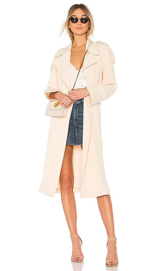 See By Chloe Long Trench in Beige