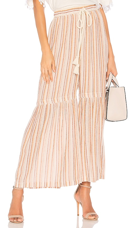 See By Chloe Micro Flare Pant in Pink