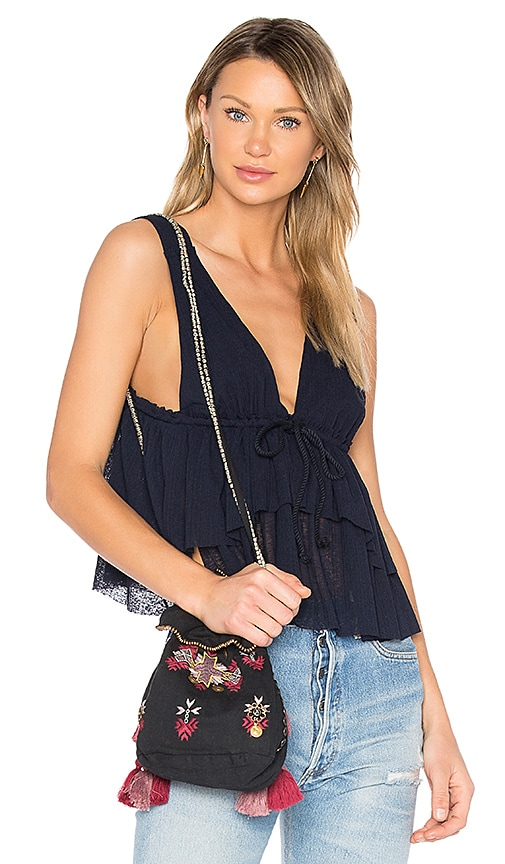 See By Chloe Ruffle Top in Blue