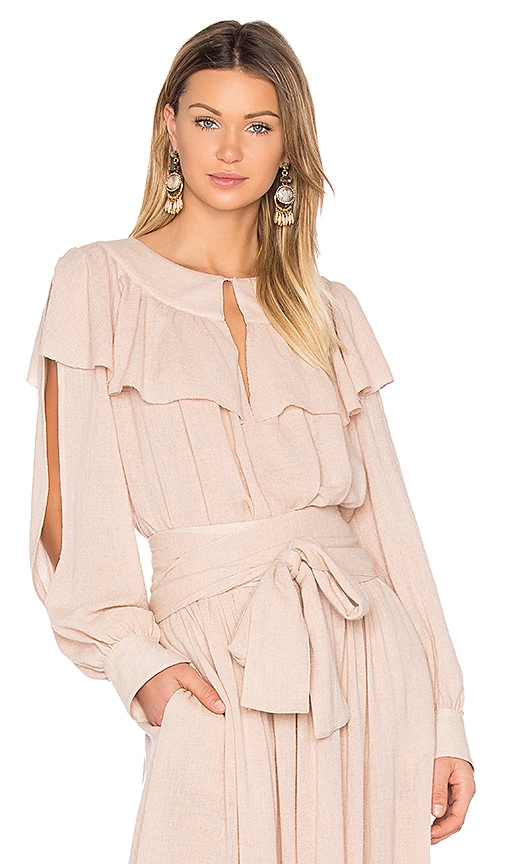 See By Chloe Ruffle Top in Blush