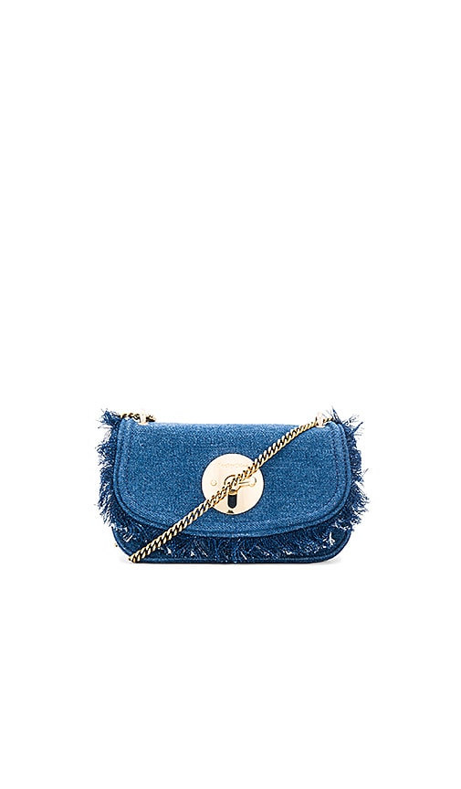 See By Chloe Lois Clutch in Blue
