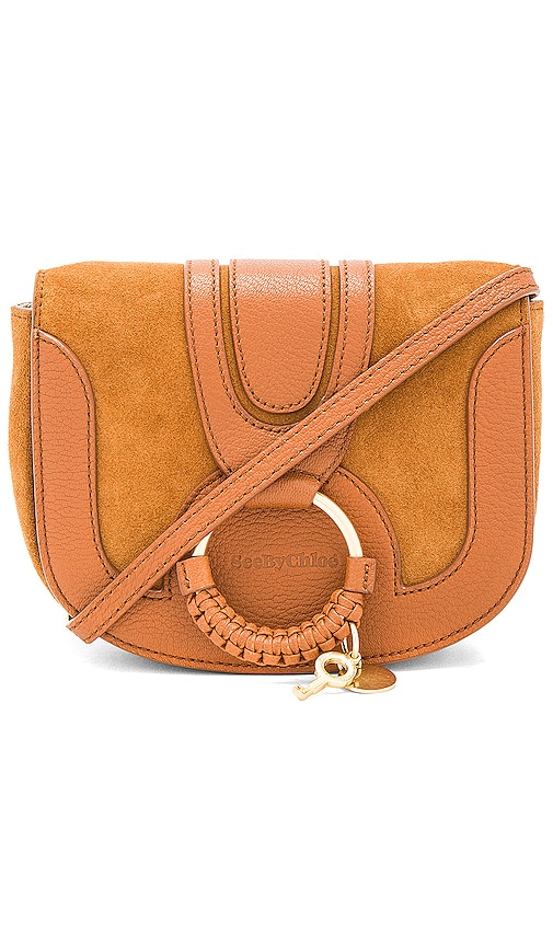 See By Chloe Mini Bag With Ring Detail in Cognac