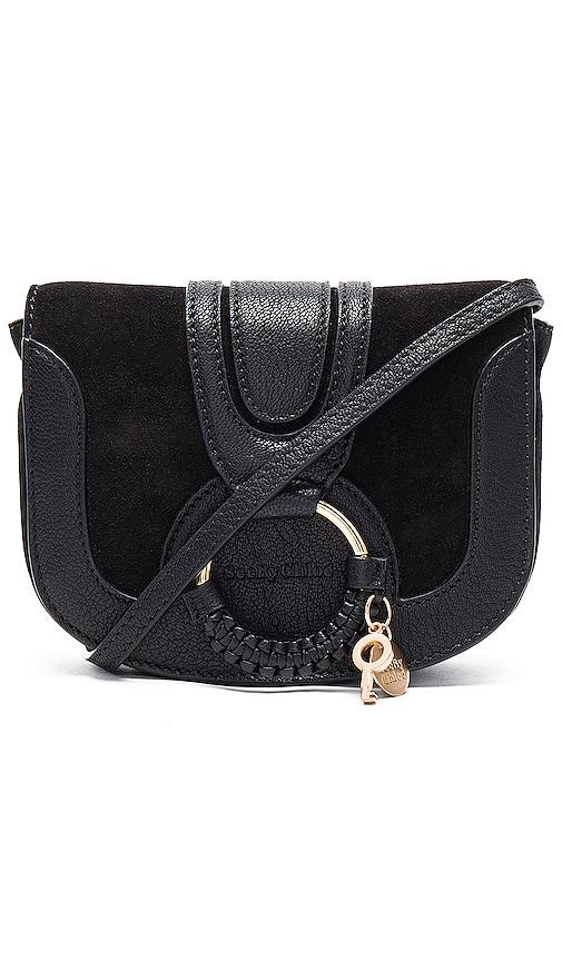 218a94924ce6b See By ChloÉ Hana Suede And Leather Satchel Cross-Body Bag In Black
