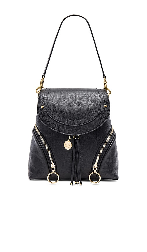 See By Chloe Olga Back Pack in Black | REVOLVE