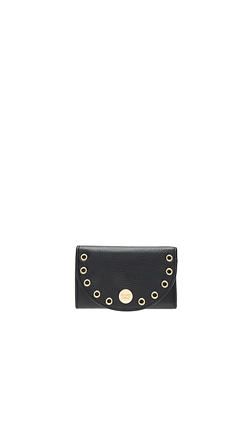 See By Chloe Kriss Compact Wallet in Black