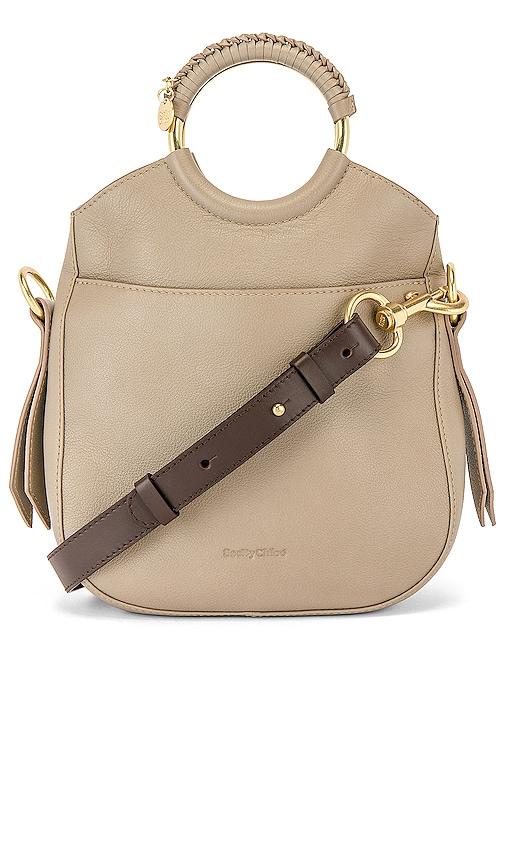 Monroe Small Leather Bracelet Tote