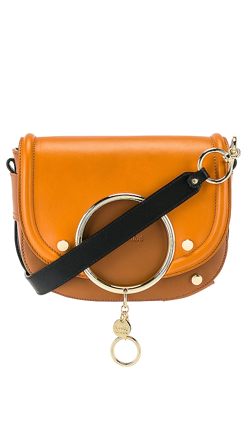 Mara Leather Colorblock Crossbody