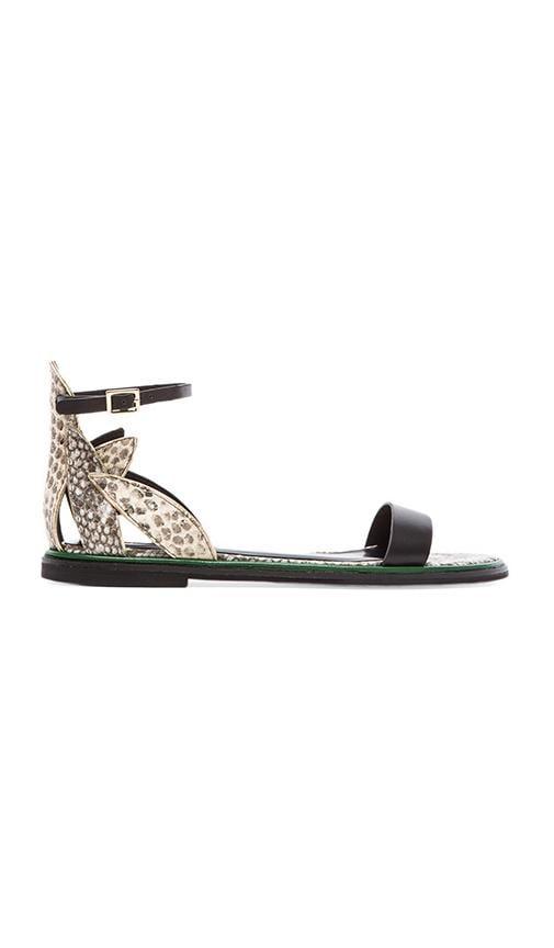 Flat Python Sandal