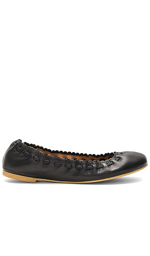 See By Chloe Ballet Flat in Black