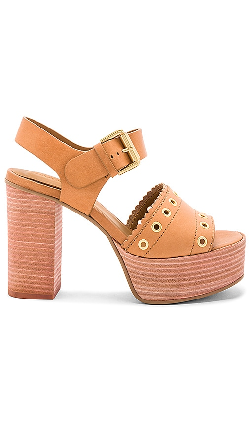 See By Chloe Capurso Heel in Tan