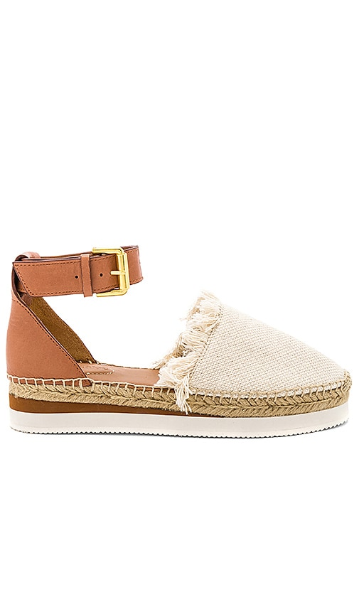 See By Chloe Glyn Espadrille Sandal in Brown