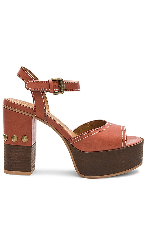 See By Chloe Studded Platform in Rust