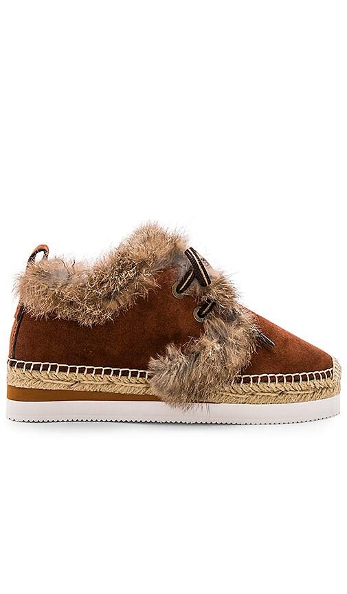 Glyn Rabbit Fur Sneaker