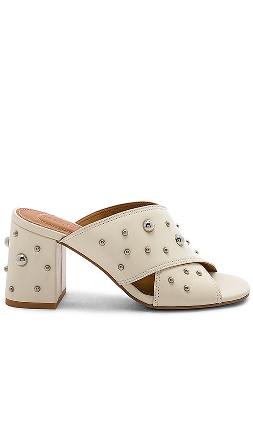 41b1f708e978f See By Chloe Studded Mule in Gesso | REVOLVE