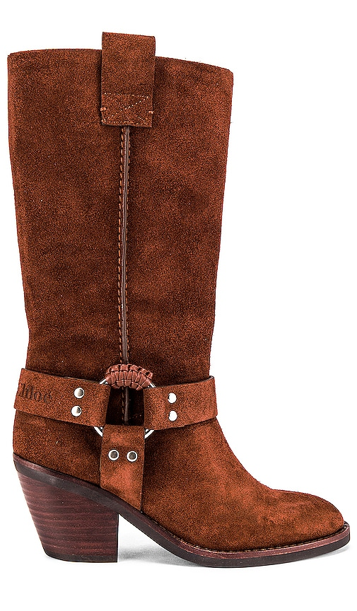 Western Knee High Boot