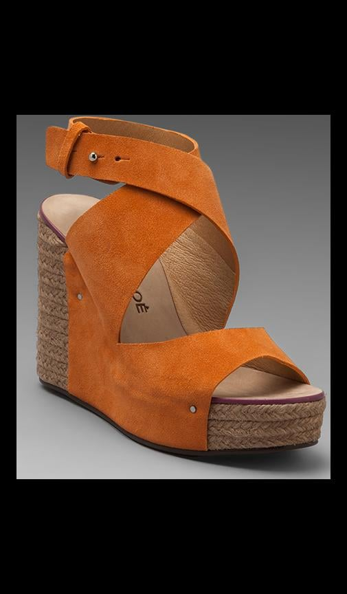 Criss Cross Wedge Espadrille
