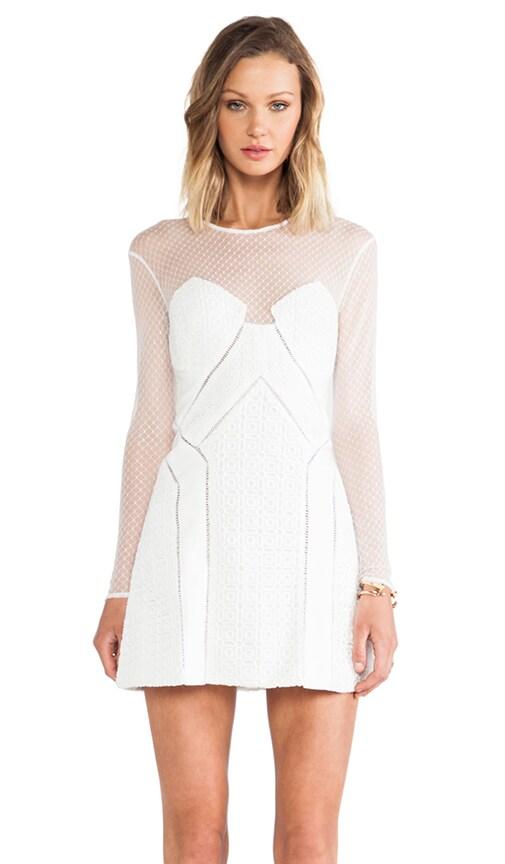 White Night A-Line Dress