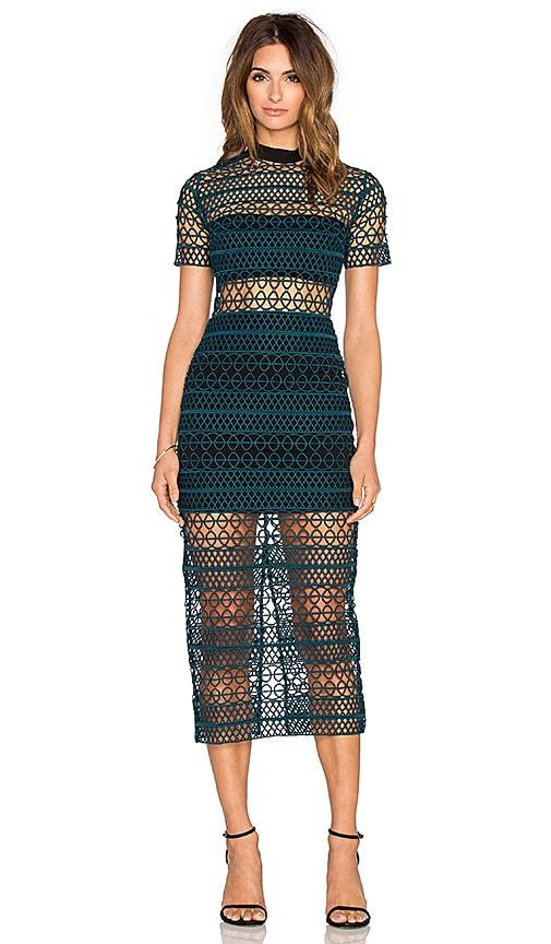 15d2d5a902f4 High Neck Column Dress. High Neck Column Dress. self-portrait