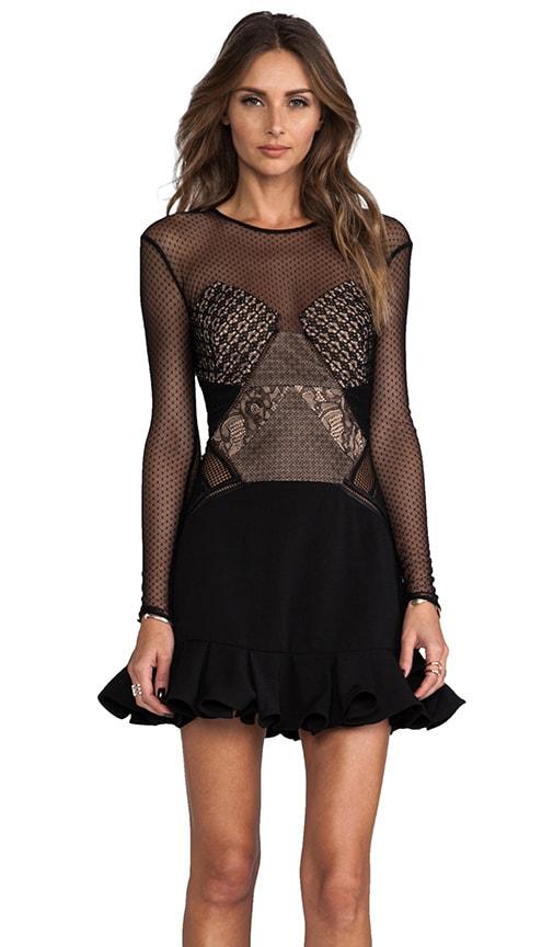 Ruffled Up Panelle Dress