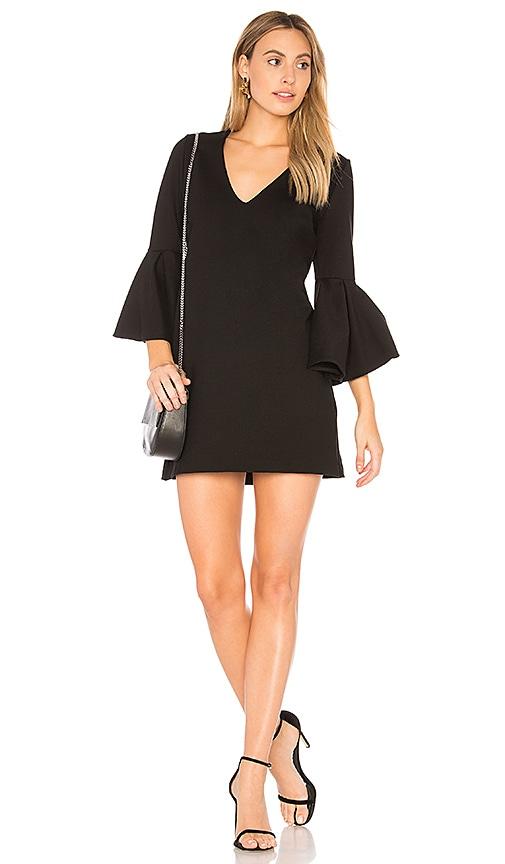 sen Claudette Mini Dress in Black