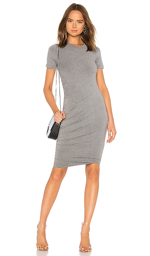 sen Timor Dress in Charcoal
