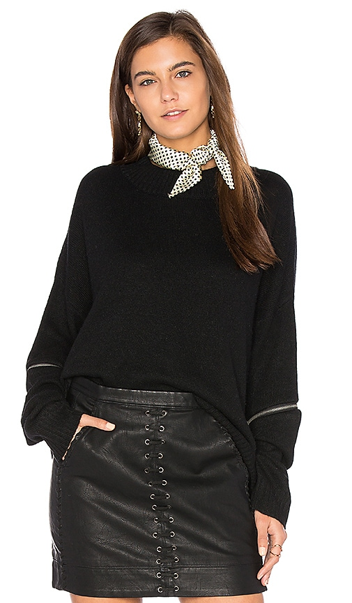 sen Maren Sweater in Black