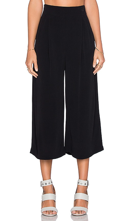 sen Braxton Culotte in Black