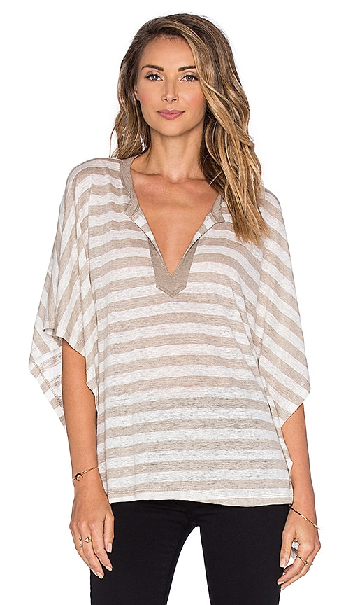 sen Cobey Dolman Top in Taupe