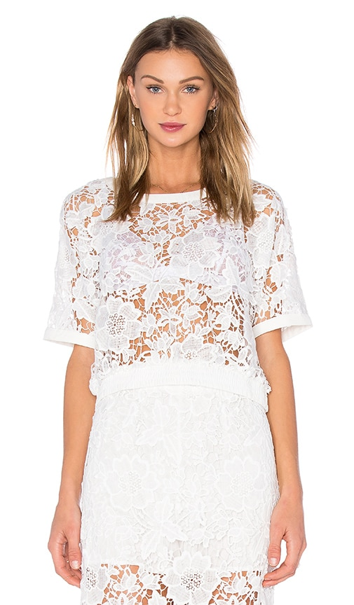 76adffb4c44 sen Sage Top in White | REVOLVE