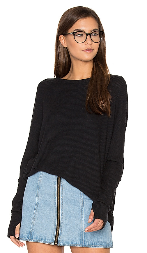 sen Claxton Top in Black