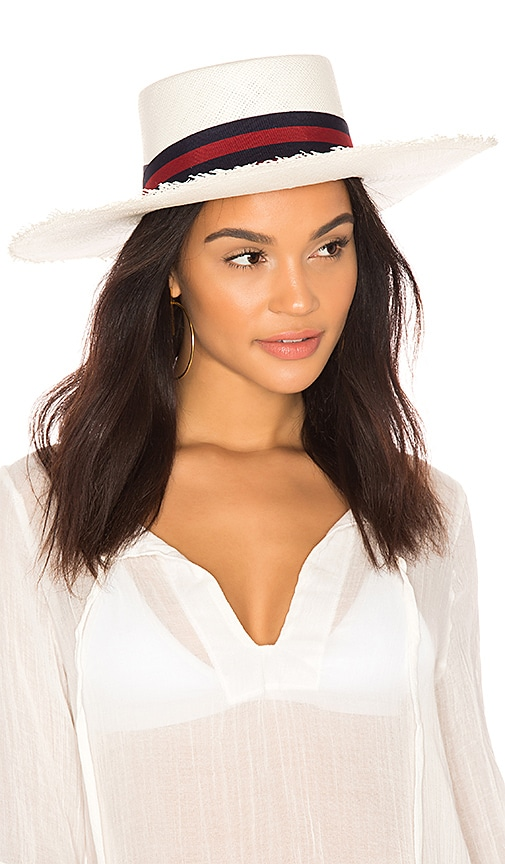 Long Brim Boater Hat