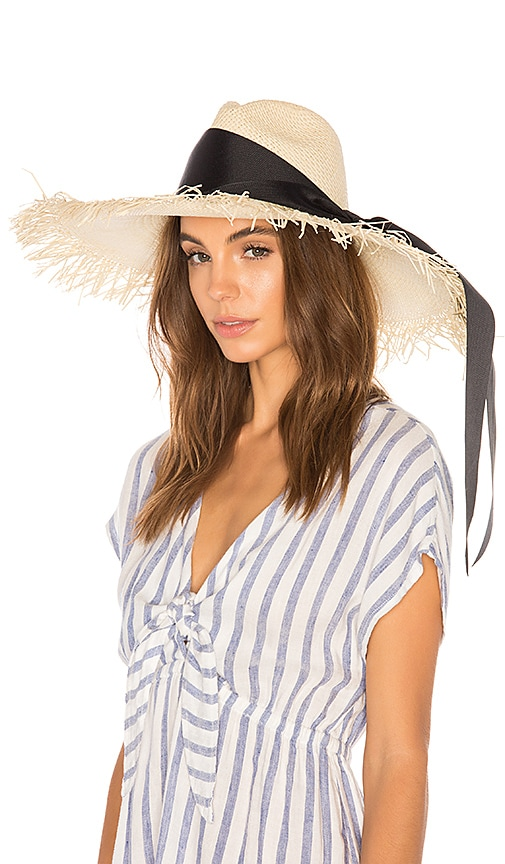 Extra Long Brim Panama Hat