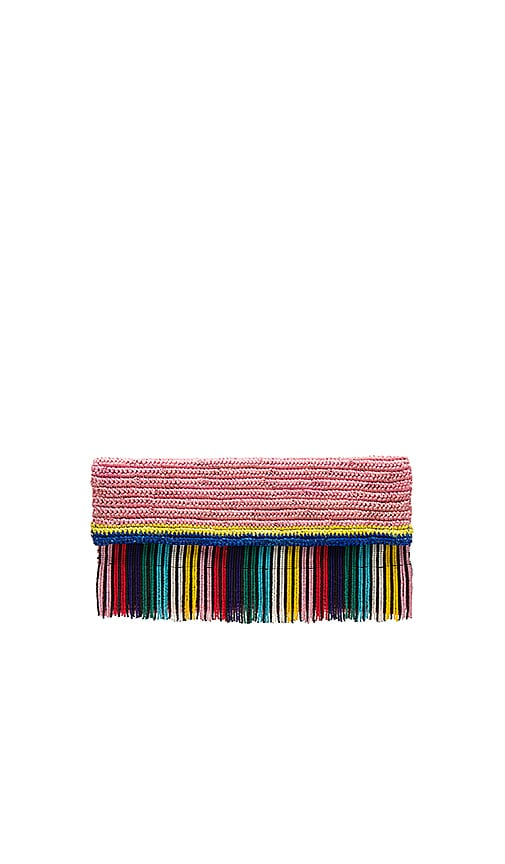 Beaded Clutch in Pink Sensi Studio