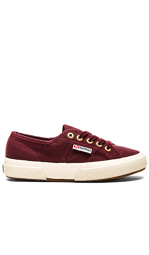 Superga Cotu Classic Sneaker in Dark Bordeaux