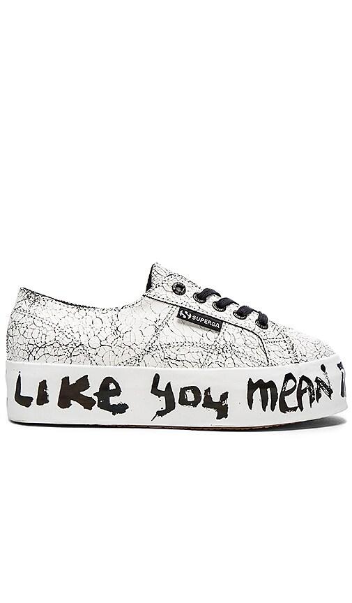 Superga x Domingo Zapata Sneaker in Love Me Printing