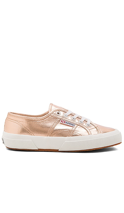 Superga 2750 Cotmetu Sneaker in Rose Gold