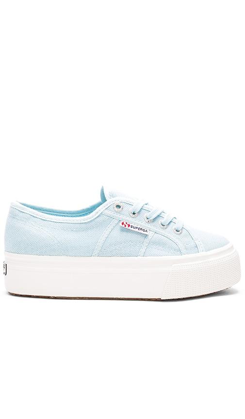 Superga 2790 Acot Sneaker in Light Blue