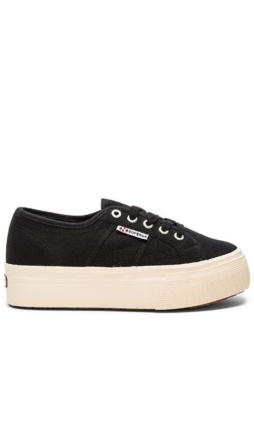 Superga 2790 Acot Sneaker in Black