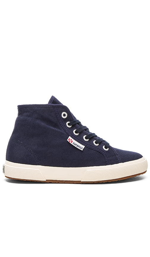 Superga 2095 Cotu Sneaker in Navy