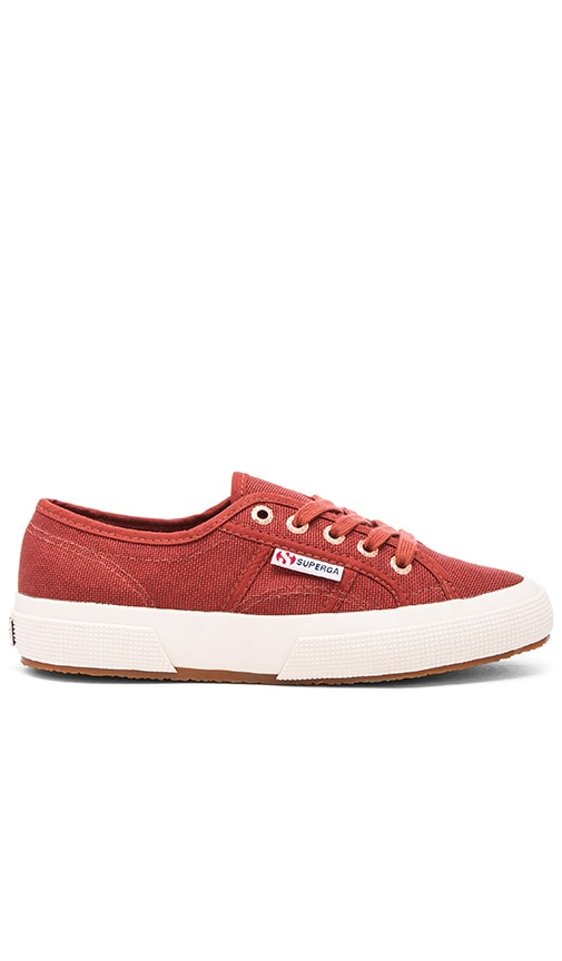 Superga 2750 Cotu Classic Sneaker in Rust