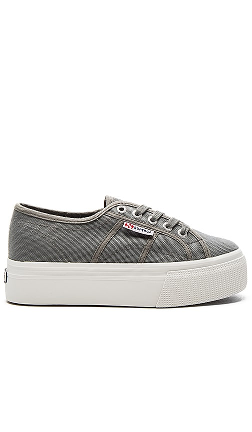 Superga 2790 Platform Sneaker in Gray
