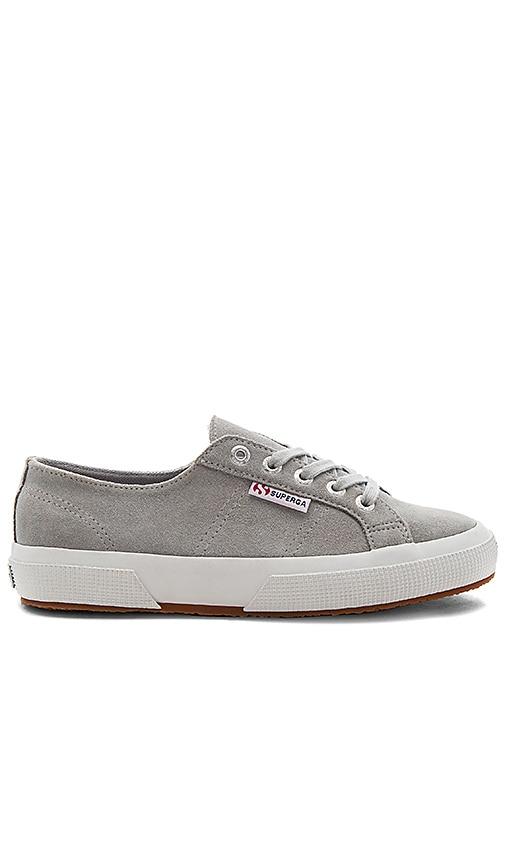 Superga 2750 Sueu Sneaker in Gray