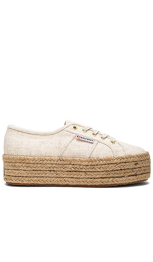 Superga 2790 Sneaker in Beige
