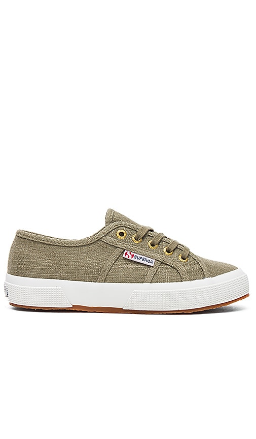 Superga 2750 Sneaker in Army