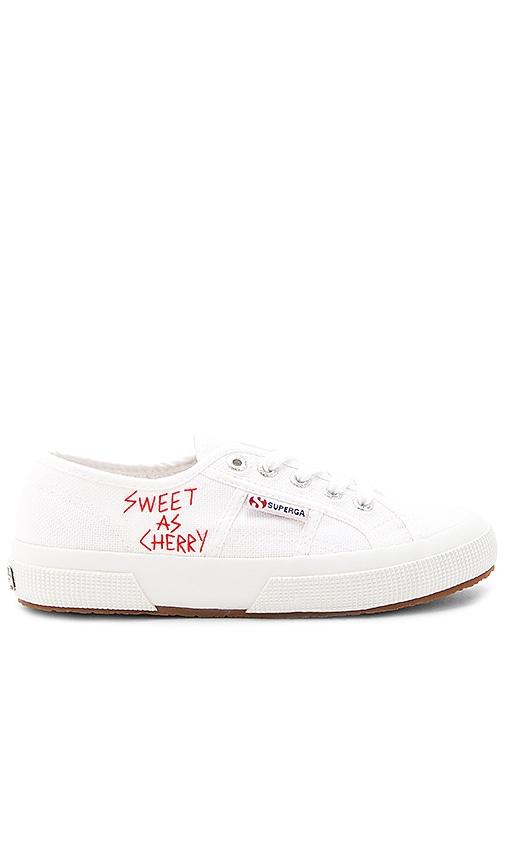 Superga Sweet as Cherries Sneaker in