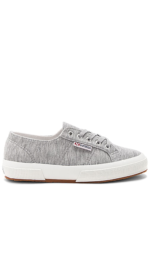Superga 2750 Jersey Shirt Sneaker in Gray