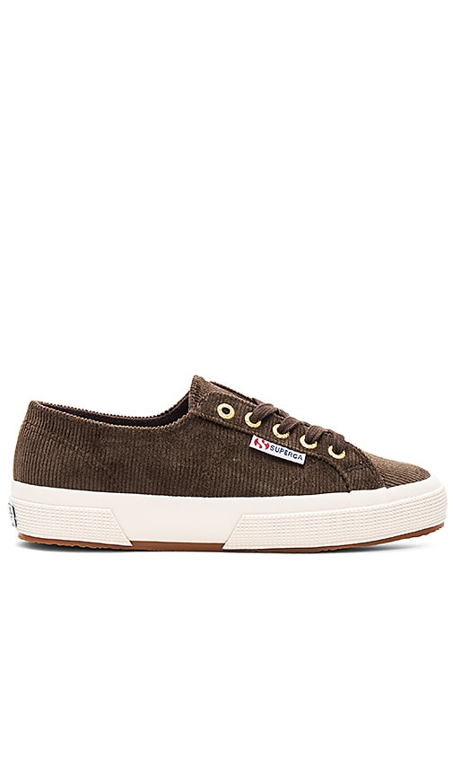 Superga 2750 Corduroy Sneaker in Brown