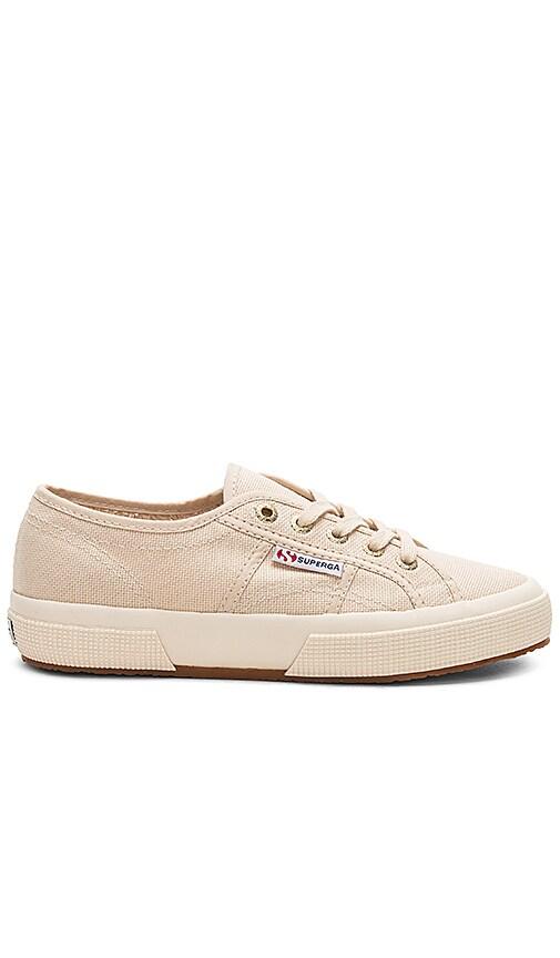 Superga 2750 Classic Sneaker in Cream