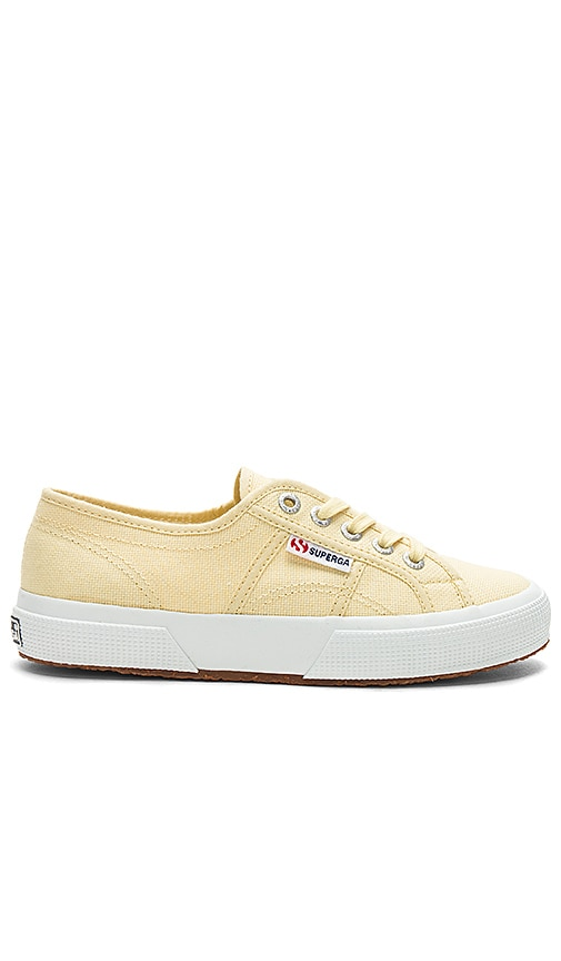Superga 2750 Classic Sneaker in Yellow