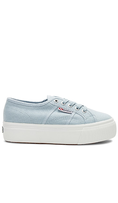 Superga 2790 Platform Sneaker in Blue